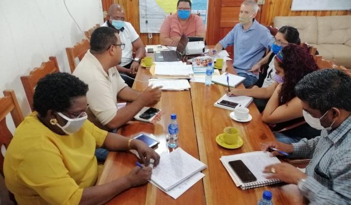 Des de les oficines a Nicaragua i el Senegal del FCCD se segueix treballant per avaluar els efectes de la Covid-19 als territoris. Font: FCCD