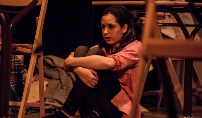 """""""El teatre permet viure realitats llunyanes"""" /  Foto: Donar veu a la memòria, Xavier Mercadé"""