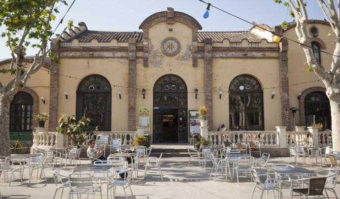 Pati del cafè de L'artesà del Prat de Llobregat, autor Toni Galitó