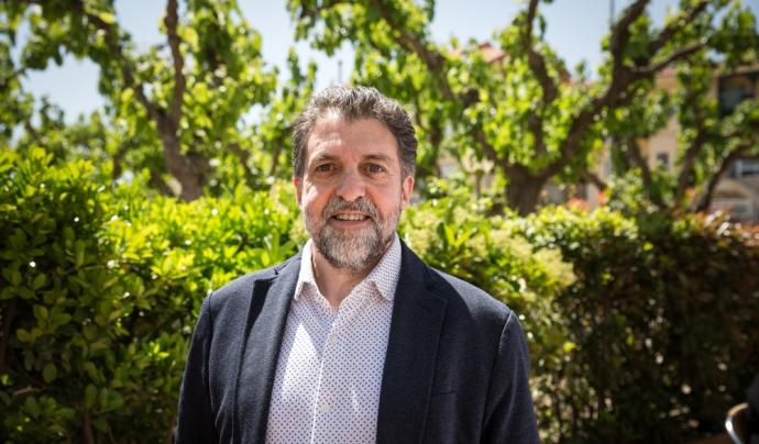 El president de la Federació d'Ateneus de Catalunya, Pep Morella. Font: Federació d'Ateneus de Catalunya