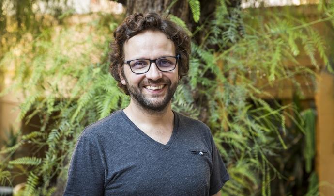 Marc Sambola, director d'A Grup Vocal (Foto: Toni Galitó)