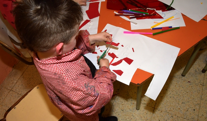 La llegenda ha estat il·lustrada pels infants del Casal En Família, projecte de la Fundació IReS Font: Fundació IReS