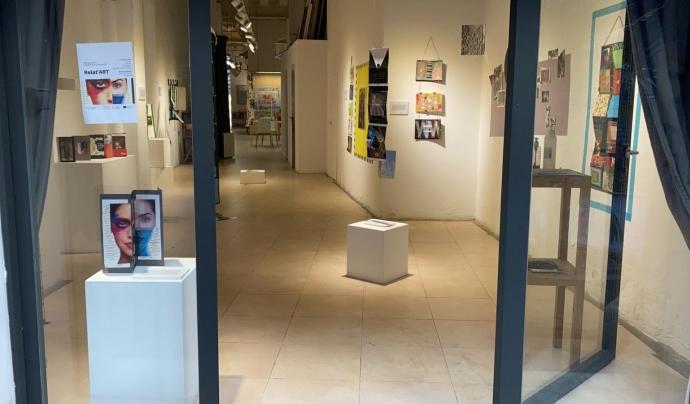 Del taller d'artteràpia n'han sortit onze fanzins que s'exposen fins a finals de juliol a la Galeria Atelier. Font: Fundació Surt