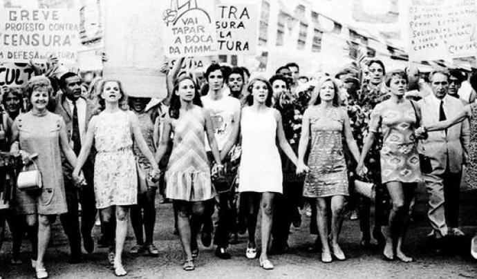 Imatge de manifestació feminista