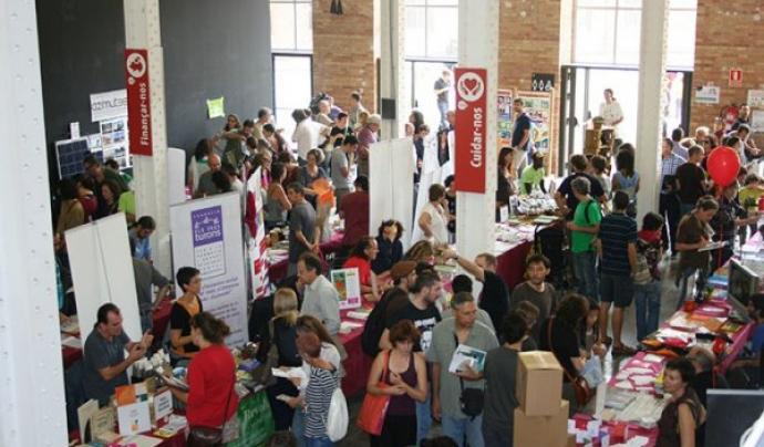 Panoràmica de la FESC, un espai ideal per donar a conèixer projectes d'economia social.