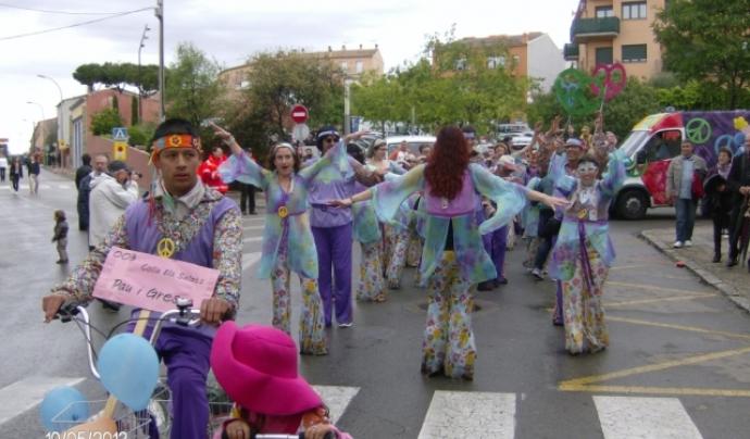 'Carroussel' de les Festes de Primavera de Palafrugell