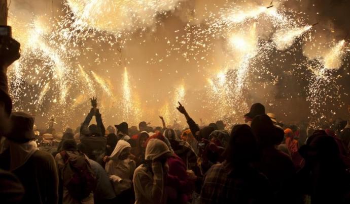 Les Santes de Mataró fa més d'una dècada que van ser catalogades com a festes d'interès patrimonial. Font: Festescatalunya