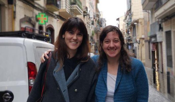 Adriana Pérez i Marta de Muga, directores del Festival Inclús Font: Sara Borrella