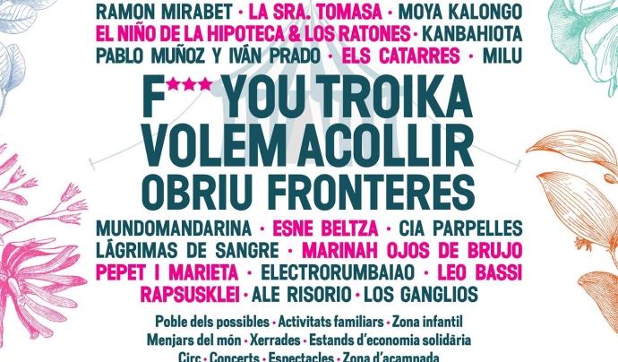 Cartell del Festival Esperanza 2016. Font. Festival Esperanzah