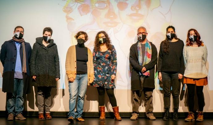 La presentació de la programació de la XII edició del Festival Mutis s'ha dut a terme a Lluïsos Teatre. Font: Festival Mutis