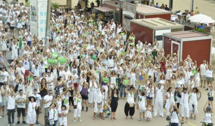 La ciutadania mobilitzada contra el canvi climàtic, a Corazones Verdes (imatge:350org)