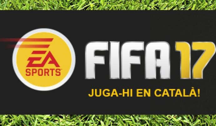 Reivindica el Fifa 17 en català!
