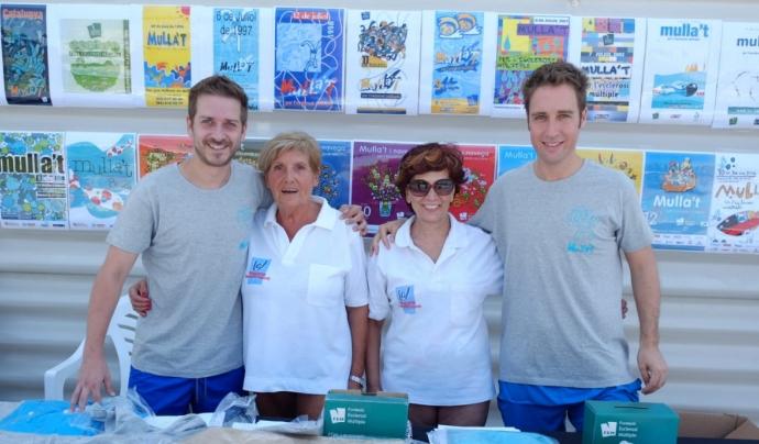Voluntariat del 'Mulla't per l'Esclerosi Múltiple' a Figueres.