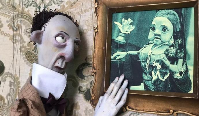 """L'obra """"Cachito de Eternidad"""", de la companyia Fills de Fusta, serà un dels cinc espectacles. Font: Ateneu Popular 9 Barris"""