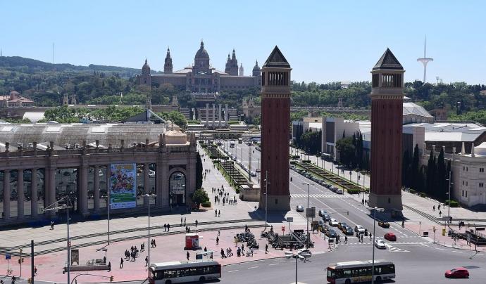 Les 27 hectàrees que ocupa la Fira a Montjuïc són de titularitat municipal Font: Ferran Cornellà