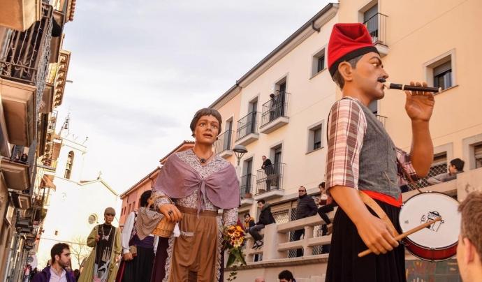 La colla gegantera de Castellbisbal és l'organitzadora, juntament amb l'Agrupació de Colles de Geganters de Catalunya, de la 13a Fira del Món Geganter. Font: Colla Gegantera de Castellbisbal