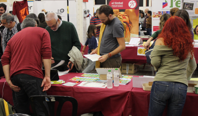 Durant la FESC la ciutadania coneix diferents projectes de l'economia social.