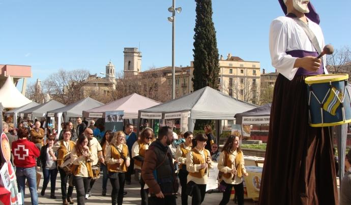 Cercavila de la Fira d'Entitats de Girona 2016
