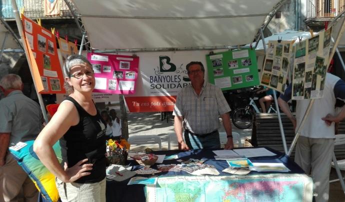 Des de Banyoles Solidària també tenen marxa projectes locals.  Font: Banyoles Solidària