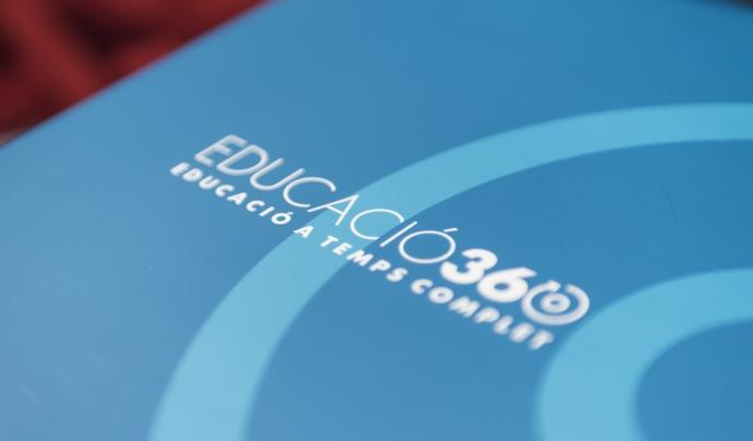 Carpeta de presentació de l'aliança EDUCACIÓ360