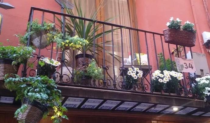 Torna el Flors als Balcons de Balaguer després de la celebració d'una edició diferent durant l'any passat. Font: Paeria de Balaguer