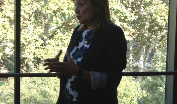 Marta Cid, Vocal d'Internacionalització de l'Acció Social d'ECAS.