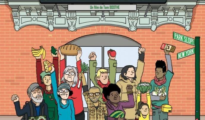 Cartell del documental 'Food Coop' Font: Food Coop