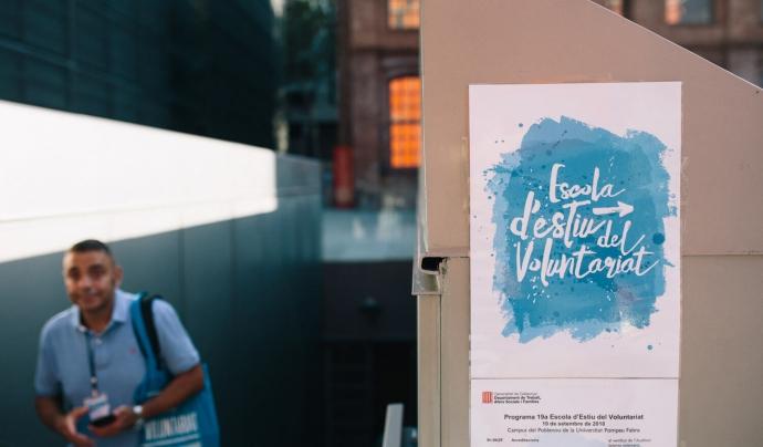 L'Escola d'Estiu del Voluntariat 2021 tindrà lloc del 13 al 15 de juliol.  Font: Voluntariat.gencat.cat