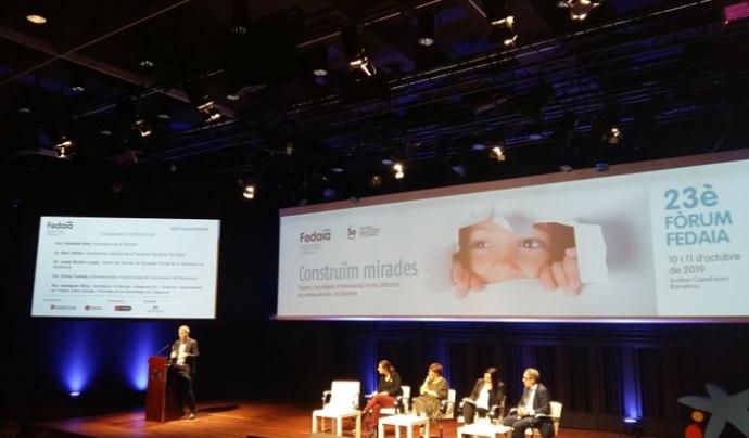 El 23è Fòrum Fedaia va tenir lloc al Caixafòrum, a Barcelona, el 10 i 11 d'octubre. Font: Fedaia. Font: Fedaia