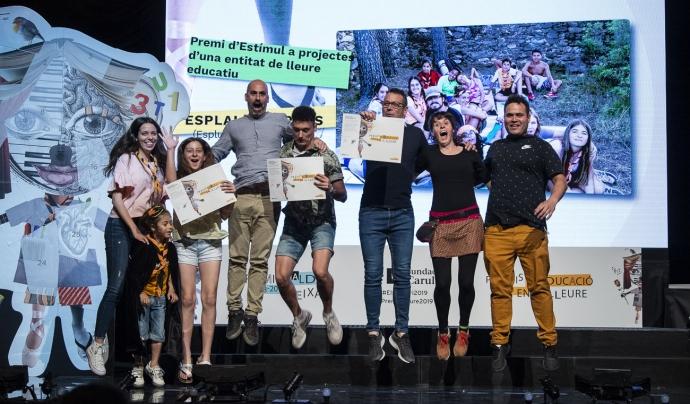 Agrupament Escolta Trini Nova, guardonat en l'edició anterior dels Premis d'Educació en el Lleure, 2019. Font: Ajuntament de Barcelona
