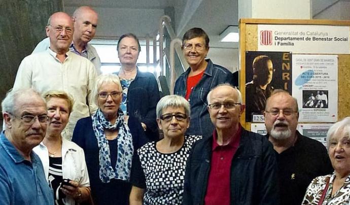L'Associació Viure i Conviure treballa al costat de la gent gran de Manresa des de l'any 1999. Font: Associació Viure i Conviure