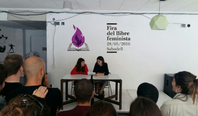 Presentació de la primera edició de la Fira del Llibre Feminista de Sabadell Font: Fira del Llibre Feminista de Sabadell