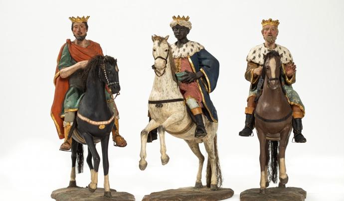 La Mostra de Pessebres d'Olot es pot visitar fins al 10 de gener de 2021. Font: Web del Museu d'Olot.