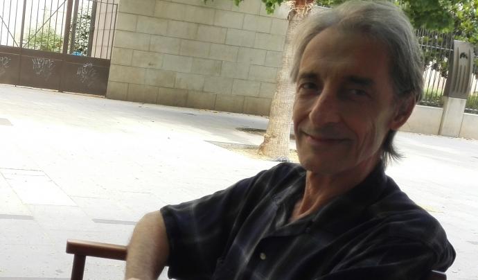 Óscar Rosselló és el coordinador d'Amics dels Infants del Marroc. Font: Imatge cedida per Óscar Rosselló.