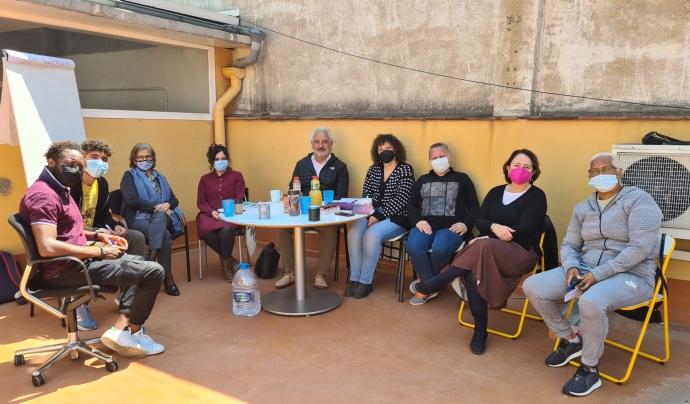 Equip de voluntariat del projecte ALADO Font: babel