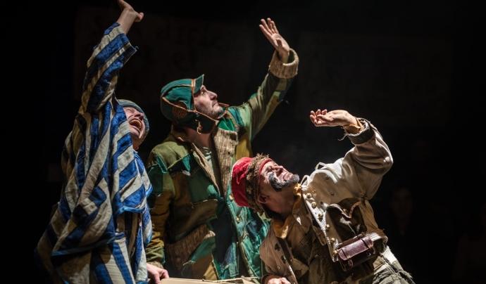 La fira recull espectacles amb valors i que reivindiquen una transformació social. Font: La Baldufa Teatre. Font: Font: La Baldufa Teatre.