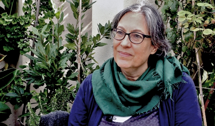 Cristina Junyent, directora de la Fundació Ciència en Societat. Font: Míriam Pagès