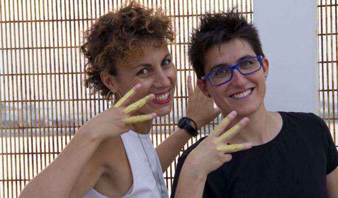 Cristina Rodríguez i Núria Loras són les sòcies fundadores de la cooperativa. Font: El Far. Font: Font: El Far.