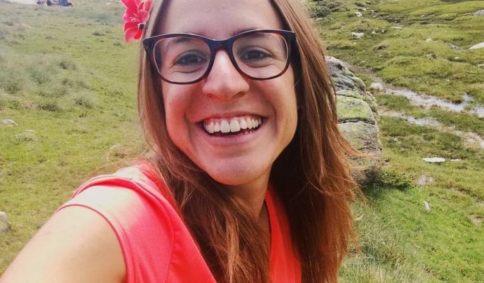 Marina Bricollé, educadora social de professió i formadora d'Educació emocional i membre de la comissió Postconfinament de MEG a nivell associatiu. Font: Minyons Escoltes i Guies de Catalunya