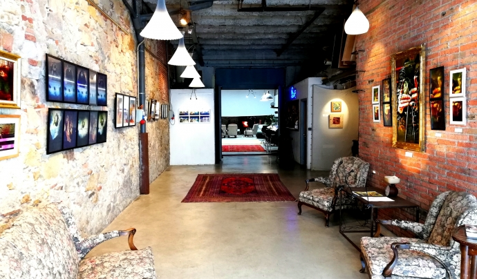 L'espai de la galeria Chez Xefo. Font: Chez Xefo.