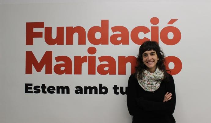 Judit Blanco, responsable de voluntariat de la Fundació Marianao, de Sant Boi de Llobregat Font: Fundació Marianao