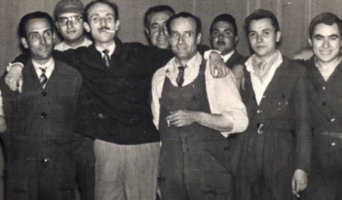 Manuel Cubeles és un dels noms imprescindibles de la dansa catalana d'arrel tradicional. Font: Fotograma de l'acte inaugural de l'Any Manuel Cubeles.