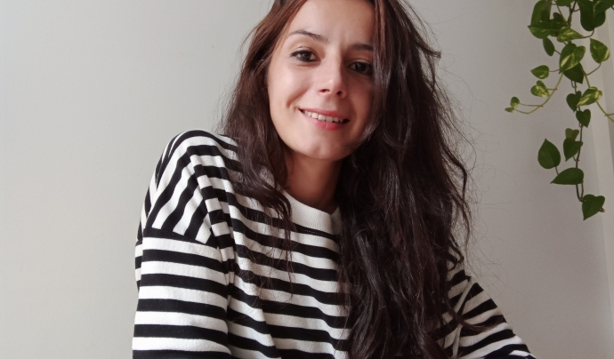 Marina Tutusaus, tècnica de l'àrea laboral de la Fundació Comtal. Font: Marina Tutusaus