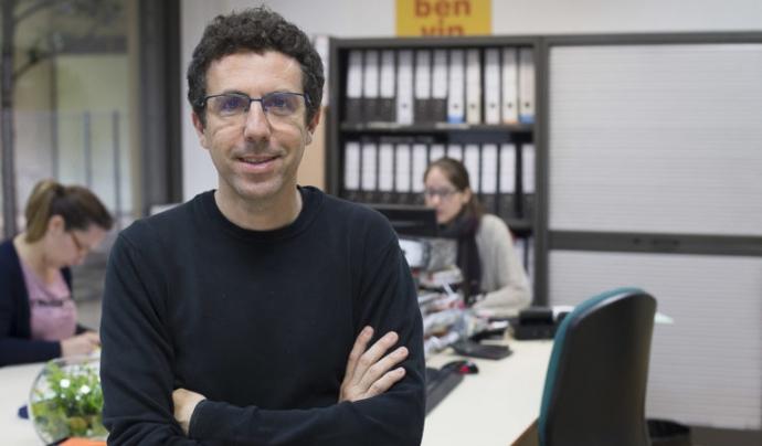 Oriol Esculies es mostra crític amb la gestió de l'Administració i creu que es podria fer més. Font: Projecte Home Catalunya