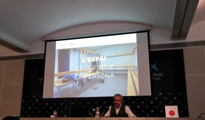 Marc Pericas, especialista en branding, comunicació i màrqueting, s'ha encarregat d'elaborar una campanya audiovisual per conscienciar sobre l'abús. Font: Suport Associatiu. Font: Font: Suport Associatiu.