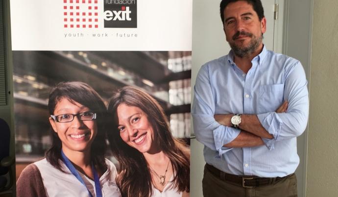 Pablo Zimmermann, responsable del projecte Couch Font: Fundació Èxit