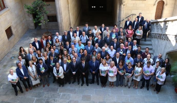 La Taula del Tercer Sector al Palau de la Generalitat