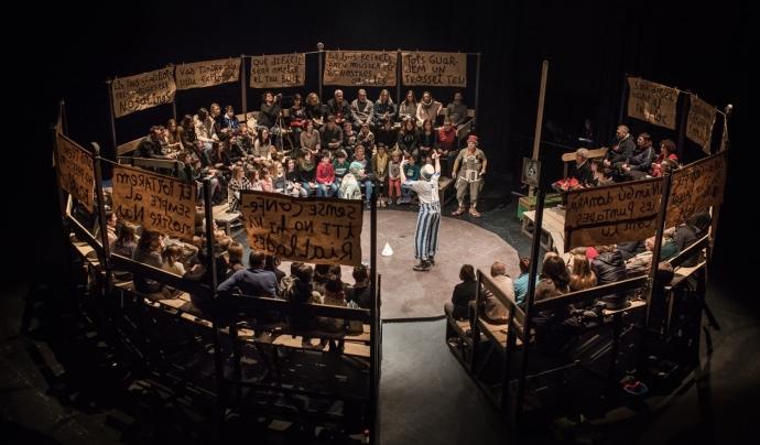 L'edició d'enguany centra els eixos temàtics al territori, la identitat, el compromís i la reflexió. Font: La Baldufa Teatre. Font: Font: La Baldufa Teatre.