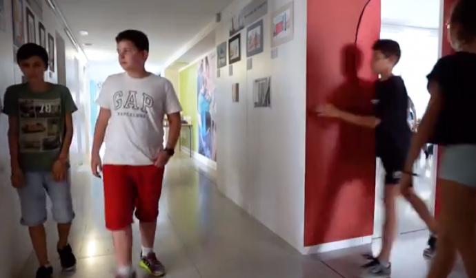 Els corredors de l'institut