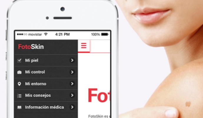 Fotoskin, una app per lluitar contra el càncer de pell